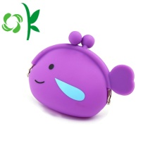 Fish Shape Children Silicone Coin Purse bez zamka