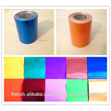Aluminum Foil PE Painted, color coated aluminum foil