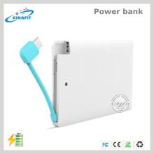 Cargador de batería barato de la tarjeta de crédito Banco de poder disponible