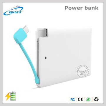 Cheap Credit Card Battery Charger Disposable Power Bank