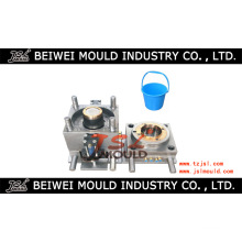 Customized Bonne qualité Injection Plastic Food Water Bucket Mold