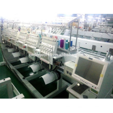 12/15 needles 8 head high performance embroidery machine.