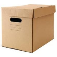 Pappe Papier Verpackung Wellpappe Karton
