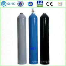 Cilindro de gás de aço sem costura 50L com válvula (EN ISO9809)