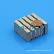 Fertigen Sie Größe Hochleistungs-smco Magnetblock besonders an