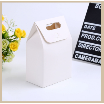 Mold Cut Handle Stock Paper Gift Packaging Bag