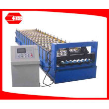 Aluminium Roofing Corrugating Sheet Roll Forming Machine (YX18-765-1040)