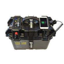 Neraus elétrico Trolling Motor inteligente bateria caixa