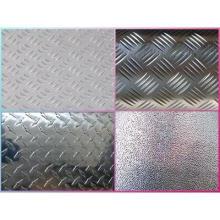 Placa quadriculada de aço inoxidável AISI304