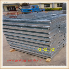 Rejilla de acero galvanizado para la calzada (certificada ISO9001)