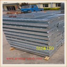 Grille en acier galvanisé pour passerelle (certifié ISO9001)