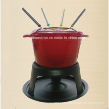 OEM ODM LFGB Ce FDA Cast Iron Fondue Manufacturer From China