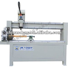 router do cnc madeira cilindro JK-1200Y