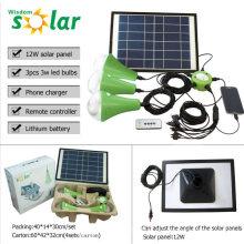 Solar betriebene Lampe mit led Solarleuchte