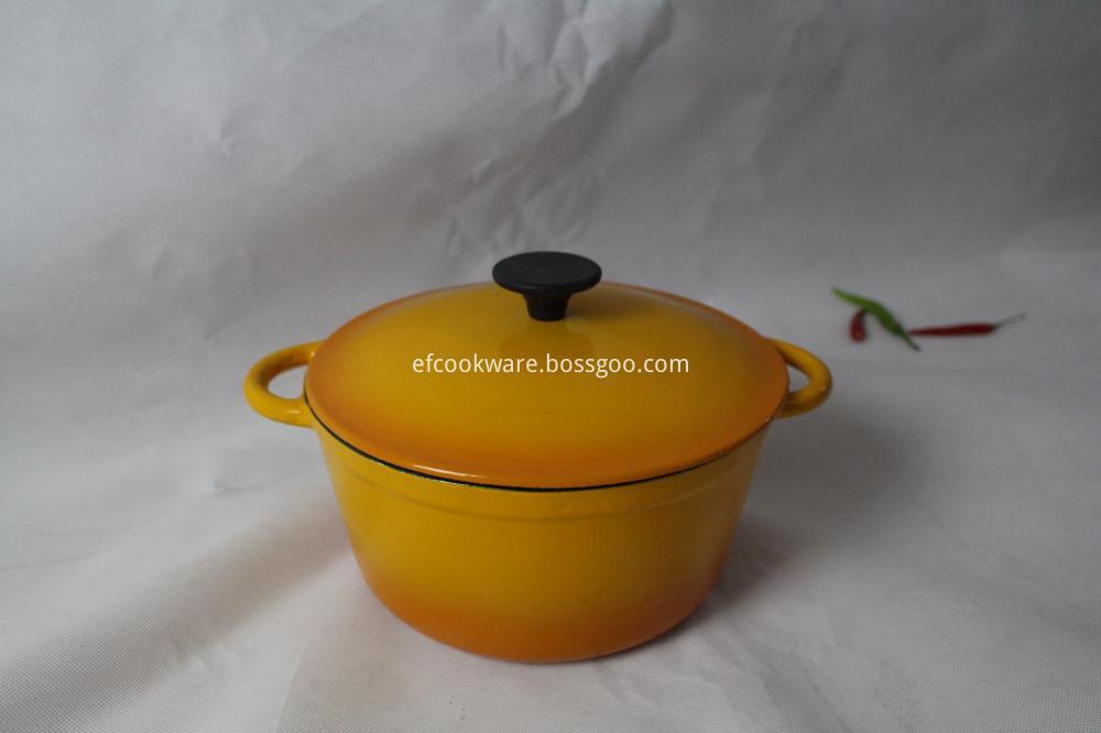 Round Enamel Cookware