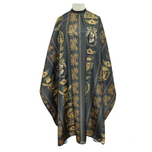 High-Grade Pattern Hair Cutting Cape Western Style for Adults for Barber Cape