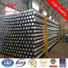 Poste de distribución de energía galvanizada 60FT