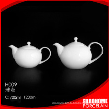 dîner de Chine de théière en porcelaine Eurohome