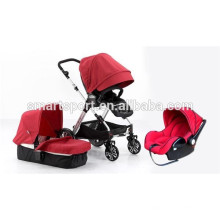high quality folding baby stroller with aluminum frame