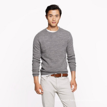 Men's 100%cashmere sweater basic style pure cashmere knitting sweater bottoming shirt sweater