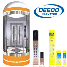 Deeoo Panoramic Observation Elevator Glass Sightseeing Elevator