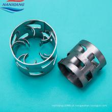 Aço inoxidável 304 Metal Packing Pall Anel 50mm