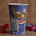 Copas de papel desechables personalizadas con tapa