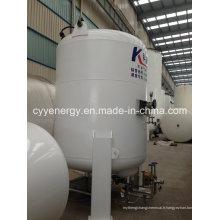 Réservoir de stockage de dioxyde de carbone d'argon d'azote liquide à basse pression