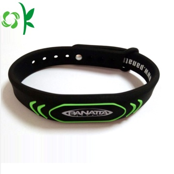 Sport Custom Health Energy Silicone Negative Ion Wriststrap