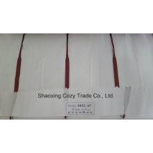Nouveau tissu de rideau transparent Organza Voile de rayures de projet populaire 008287