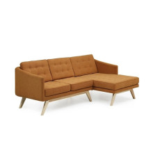 Home Design Furniture Living Room Sofa with Wooden Leg