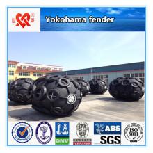 Yokohama tipo defensa de goma neumática