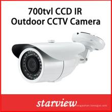 700tvl Sony 960h CCD Waterproof IR CCTV Bullet Caméra de sécurité