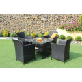 Poly Rattan Coffee and Dining Set For Outdoor Garden Patio Wicker Furniture from Vietnam 2017
