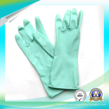 High Quality Waterproof Latex Cleaning Work Gloves with SGS Approved