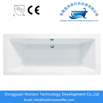 Classic Seamless Connected Acrylic Bathtub