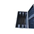 Caja de embalaje de aluminio para instrumentos