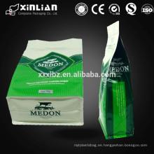 Embalaje de comida rápida de plástico biodegradable