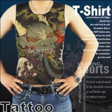 Quality for Skin Tattoo T-Shirt Fashion Fake Tattoo T-Shirt supply to Sri Lanka Manufacturers