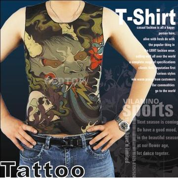 Fashion Fake Tattoo T-Shirt