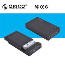 ORICO 3.5 Zoll USB 3.0 zu SATA externer Speicher-Fall Festplattenlaufwerk-Gehäuse 3.5 HDD Fall für Schreibtisch