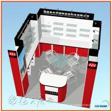 Exhibición modular de la demostración de la cabina de exhibición de la joyería para la venta