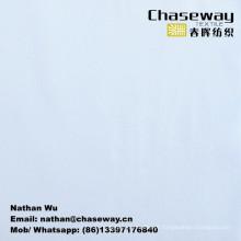 Tecido de sarja de toque de algodão de alta densidade 100% poliéster