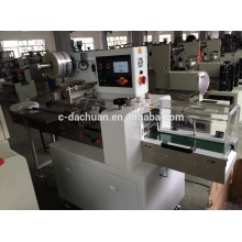 DCWB-250B Automatic biscuits plastic bag packaging machine with feeder and plastic protector