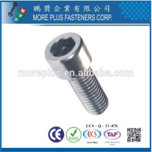 Maker in Taiwan High Technology Titanium for Auto Parts Hex Screw