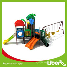 Kindergarten Kids Outdoor Play Toys with Slides and Swing
