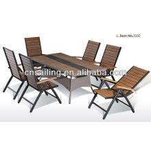 Classic Teak wood patio dining set -3102