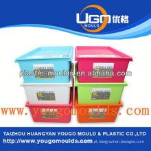 Zhejiang taizhou huangyan fabricante de moldes de plástico para recipientes e 2013 Caixa de ferramentas de injeção de plástico para casa nova mouldyougo mold