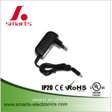 El CE de la UL ROHS enumeró el adaptador de corriente estándar del tipo 12v 2A del montaje en la pared de UK / EU / US