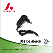 UL CE ROHS listed UK/EU/US standard wall-mount type 12v 2A power adapter